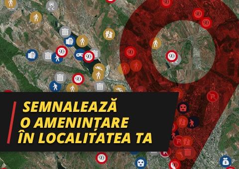 Semnalează o amenințare în localitatea ta